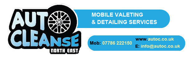 Auto Cleanse North East Logo - The Ultimate Mobile Valeting and Detailing Service